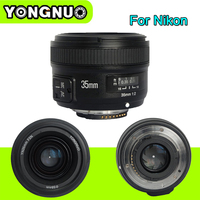 YONGNUO YN35MM F 2 0 F2N Wide Angle AF MF Fixed Focus Lens YN 35MM For