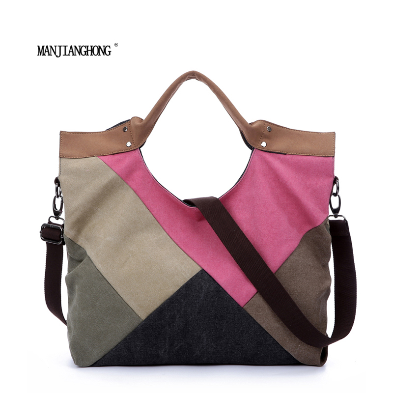 ФОТО Women wave canvas shopping bag Rainbow bag big button british plaid handbags hotsale ladies party clutches shoulder bags