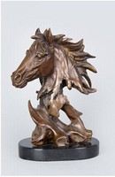 Arts Crafts Copper Mighty horse sculpture High Quality Brass sculptures animal bust Horse head Statue BRASS Horses Figurine CZW