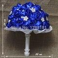 Высшего Качества ручной работы Из Бисера Брошь Шелковый Цветок Невесты Свадебный Свадебный Букет Невесты Европа Сша 3 Цветов Искусственный Цветок