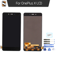 LCD Replacement For One Plus OnePlus X LCD Display Touch Digitizer Glass Assembly Screen Black White