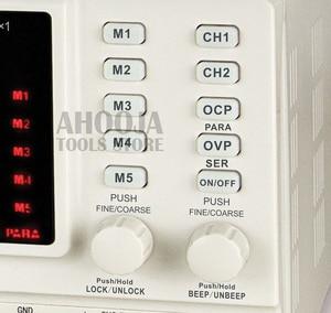 Image 3 - KA3305P Programmable Precision Variable Adjustable 30V 5A 3A USB RS232 Ports Digital DC Triple Linear Power Supply Lab Grade