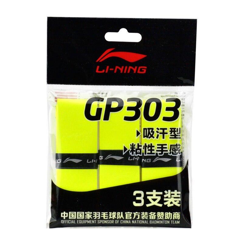 Li-Ning Badminton Overgrip GP303 Professional LiNing Accessory Sports Equipment AXJN002 ZYF279 4