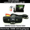 170 grados cámara de vista trasera luces LED para el estacionamiento con 4.3 pulgadas de alta definición TFT Monitor en Color de pantalla para fines SUBARU FORESTER y IMPREZA ( 3C )