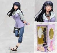 Neue 19cm Hyuuga Hinata Figur Spielzeug Naruto Mädels Anime Ninja Modell Puppe für Kinder