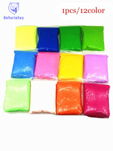 12pcs 1lot 3D color mud 12 color space mud This clay self styled package font b