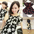 Juego de Ropa de Moda de La Familia de Madre E Hija Trajes Mamá Mamá Me Summer Fashion Floral Print Vestido de Niña Vestidos Sin Mangas