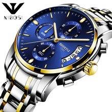 цена 2019 new luxury hot fashion business men's watch three-eye six-needle timing sports quartz watch онлайн в 2017 году