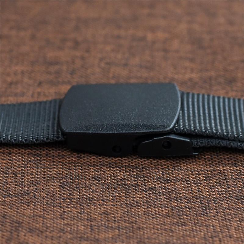 Automatic nylon military men's belt 8