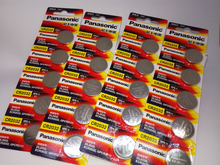 50PCS/LOT New Original Panasonic CR2032 2032 3V Button Cell Battery Coin Batteries For Watch Computer Free Shipping