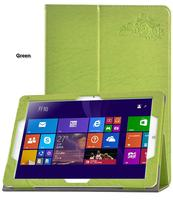 Print Flower Pattern PU Leather Tablet Case Cover With Stand For Chuwi Hi12 Clear Screen Protector