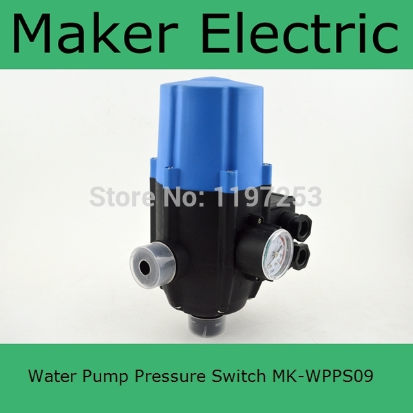 все цены на  Hot Sale MK-WPPS09 Automatic Water Pump Pressure Controller Electric Electronic Switch Control Water Shortage Protection  онлайн