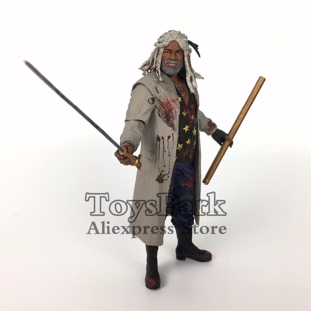 ToysPark The Walking Dead 5 Ezekiel Bloody Action Figure Skybound Mcfarlane 2017 NYCC Exclusive Series Collectible LooseToysPark The Walking Dead 5 Ezekiel Bloody Action Figure Skybound Mcfarlane 2017 NYCC Exclusive Series Collectible Loose