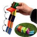 Монтессори Развивающие Игрушки Классические Деревянные Игрушки Йо-Йо Красочные деревянный блок Школа Координации Глаз и Рук для детей
