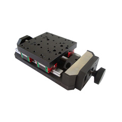 PT-SD101G X Axis Manual Linear Stage, Manual Displacement Station, Manual Platform, Optical Sliding Table, 50mm-500mm Travel pt sd12 601r 801r r axis manual rotation stage manual 360 degree rotation stage rotary st optical sliding table dia 60mm 80mm