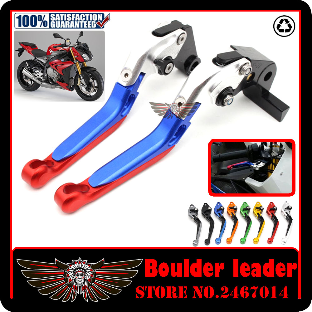For BMW S1000R 2014 2015 2016 Motorcycle Accessories Adjustable Folding Extendable Brake Clutch Levers поло