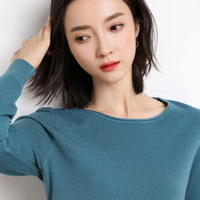 Knitted solid Cashmere Sweater