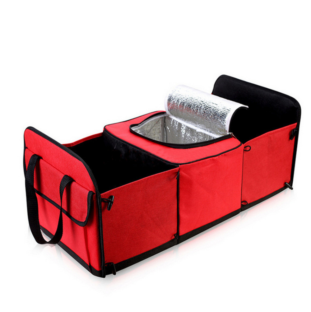 Disney Collapsible Storage Trunk Toy Box Organizer Chest: Collapsible Car Trunk Storage Bag Oxford Cloth Toys Food