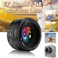 Original YONGNUO YN50mm F1.8 II Large Aperture Auto Focus Lens for Canon Bokeh Effect Camera Lens for Canon EOS 70D 5D2 5D3 DSLR