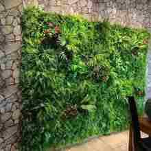 Искусственный газон фон Сделай Сам стены искусственная трава лист Свадебные украшения дома зеленый оптовая торговля коврами газон офисный Декор