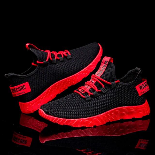Модные мужские цветные кроссовки высокого качества брендовые на завязках дышащие кроссовки с сеточкой мягкие теннисные мужские туфли с буквами всесезонные