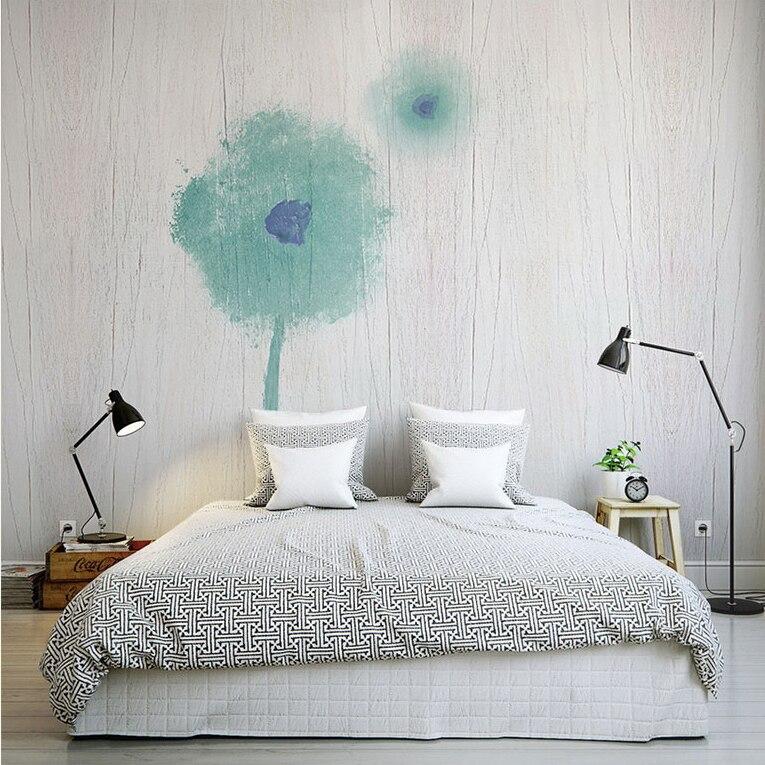 3D Wall Murals Wallpaper Abstract Flower Mural Living Room