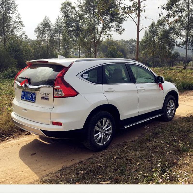 For Honda CRV Spoiler 2012 2013 2014 2015 Car Tail Wing Decoration ABS Plastic Unpainted Primer Rear Trunk Roof Spoiler