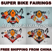 100% OEM Fitment ABS Motorcycle Fairing Kit For Honda CBR1000RR 2008 2009 2010 2011 CBR 1000 RR Fairings Body Work REPSOL