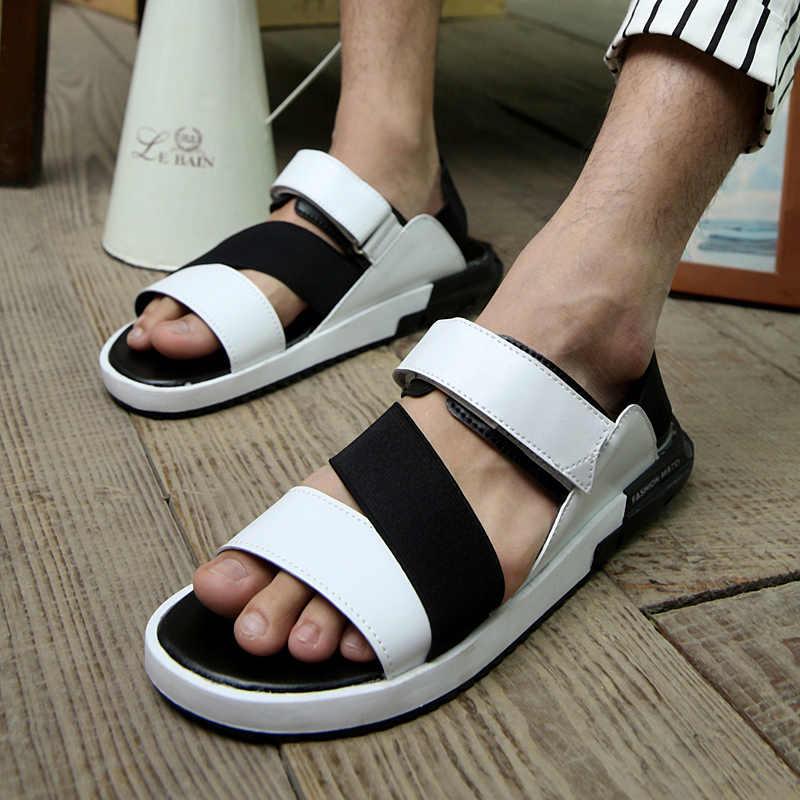 Fashion Sandals Men 2018 Vintage Rome