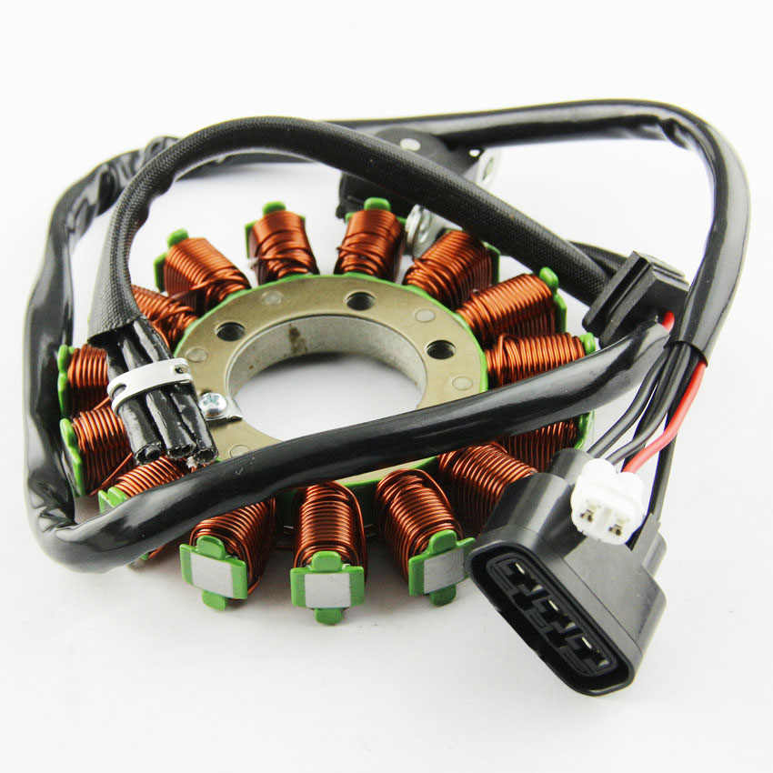 Motor Magneto Stator Ignition Coil + Stator Rotor For Harley ... on
