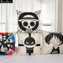 One Piece Creative cover 45x45CM cotton linen pillow case