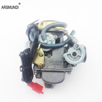 Good 24mm Big Bore Carb CVK Keihin Carburetor For Chinese GY6 125cc 150cc Motorcycle Parts Scooter