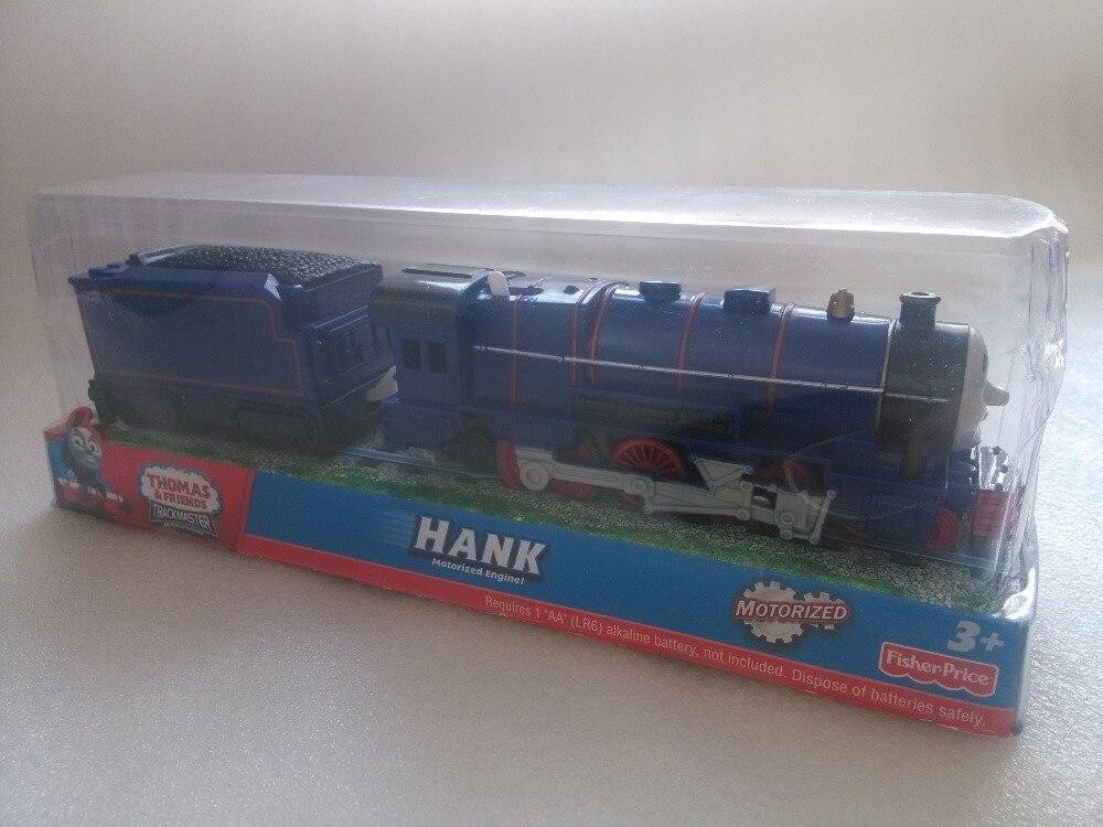 Nueva eléctrico thomas y amigo hank con un carro trackmaster motor motorizado ch