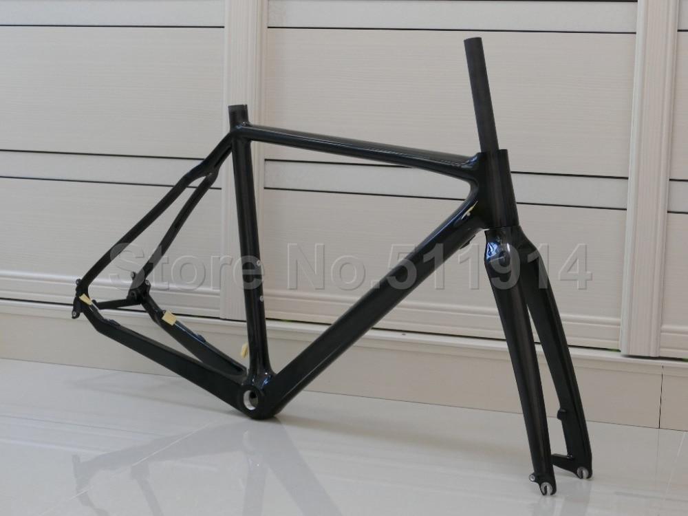 602 Toray Carbon Full Carbon Fiber Matt Glossy Cyclocross Cross Bike Bicycle BSA BB30 Frame Fork