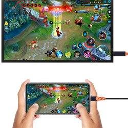 Typ C do HDMI HDTV AV TV Adapter do Samsung Galaxy S8 S9 uwaga 8 Macbook PC