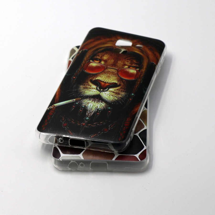 Untuk Samsung Galaxy J2 J5 J7 Prime Unicorn Lucu untuk J3 J4 J5 J6 J7 2015 2016 2017 case Silikon Lembut Penutup Belakang