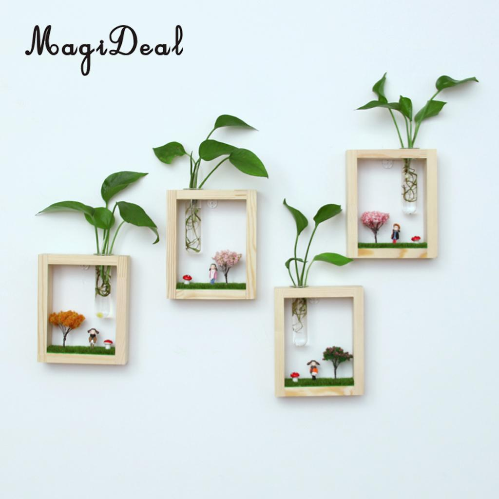 Magideal glass vase hanging micro landscape test tube flower magideal glass vase hanging micro landscape test tube flower hydroponic vase in wood stand in vases from home garden on aliexpress alibaba group reviewsmspy