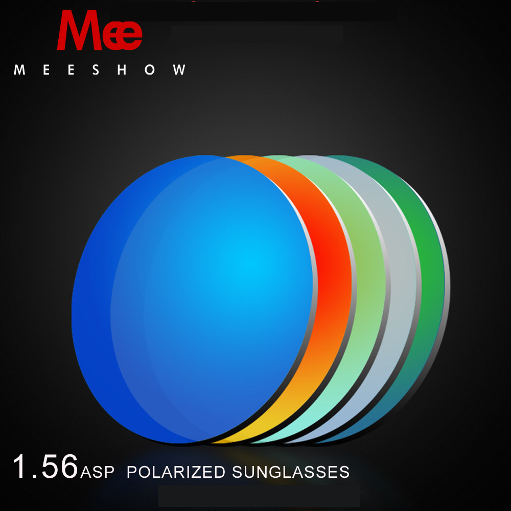 1.56ASP Resin custom lens polarized Sunglasses Colorful Mirror Lens For Myopia 0.00-4.00, Sunglassses with degree 75mm