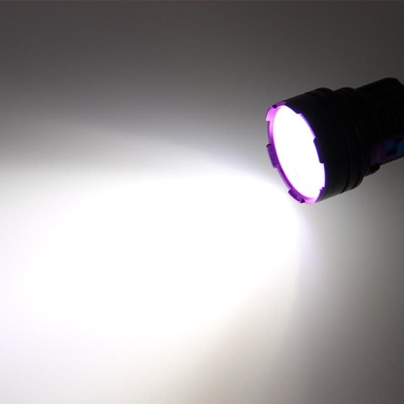 VASTFIRE Submarino 100 m Linterna de buceo Impermeable 5000lm 12X T6 - Iluminación portatil - foto 6