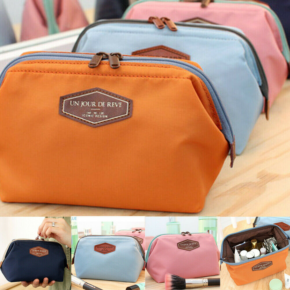 Women Travel Cosmetic Bag Makeup Case Pouch Toiletry Organizer Beauty Travel Cosmetic Bag Women Multifunction Makeup