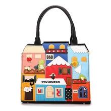 New Fashion Creative Embroidery Bags Handbags Women Famous Brands Fashion Tote Ladies Bags Women Crossbody Shoulder Bag T604