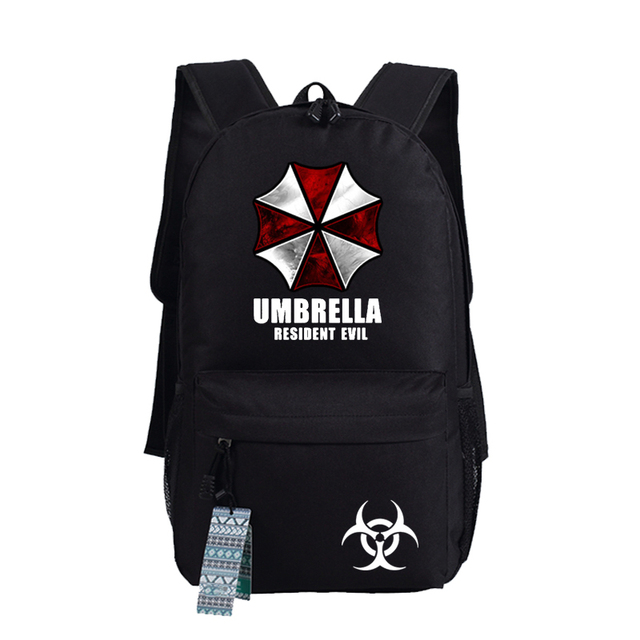 Biohazard Umbrella Resident Evil First Aid Backpack