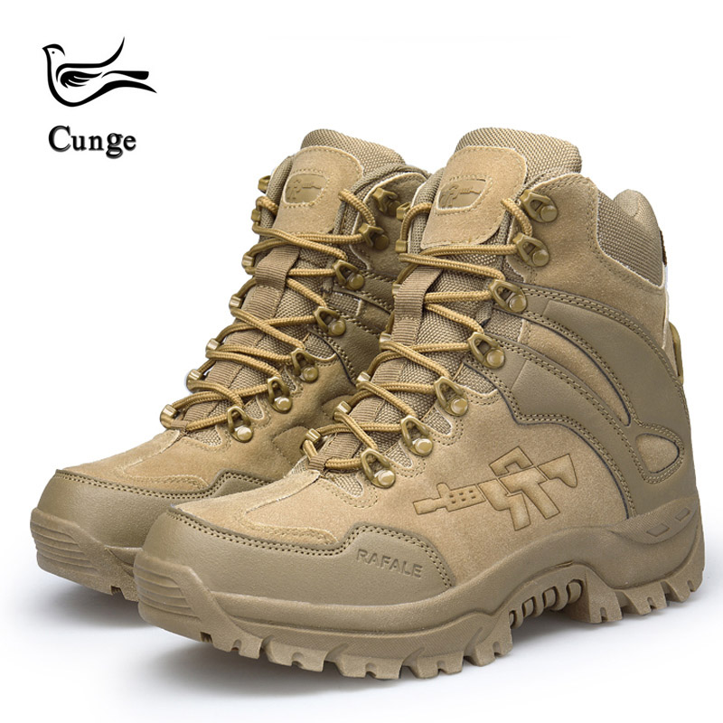 Military Sneakers Men Hiking Boots Tourism Winter Tactical Trekking Waterproof Shoes Man Outdoor Climbing Boots Sport Shoes mulinsen winter2017 tactical boots hiking shoes for men climbing mountain sport shoes man brand ankle boots men s sneakers