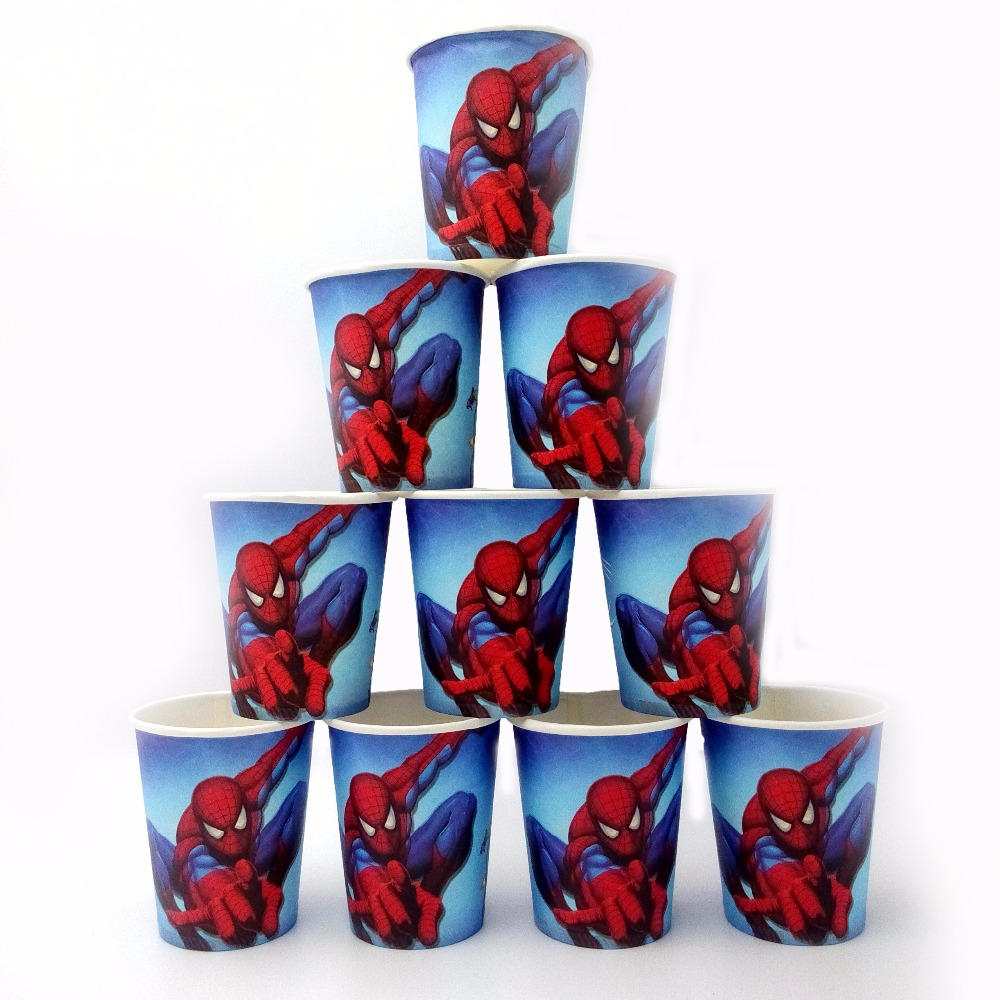 Online buy wholesale spiderman party supplies from china for Spiderman decorations