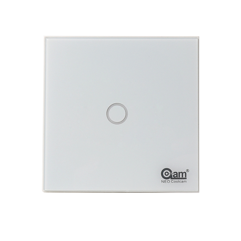 NEO COOLCAM EU Smart Switch Wall Panel Light Switch Z-wave Plus 1 Gang Wireless Remote Control Smart Home Automation Modules