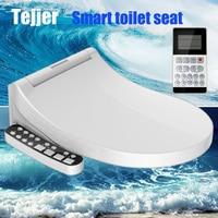 Tejjer Смарт сиденье для туалета крышка сиденья унитаза биде стульчак с электроподогревом крышка умывальник умный туалет Теплое Чистое сиден