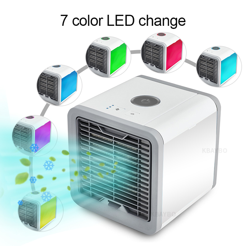 USB fan Portable Mini Air Conditioner cooling portable fan cool wind Desk Electric Fans air cooler fans for home bedroom office usb mini fan portable electric fans led portable rechargeable desktop fan cooling air conditioner portable fan