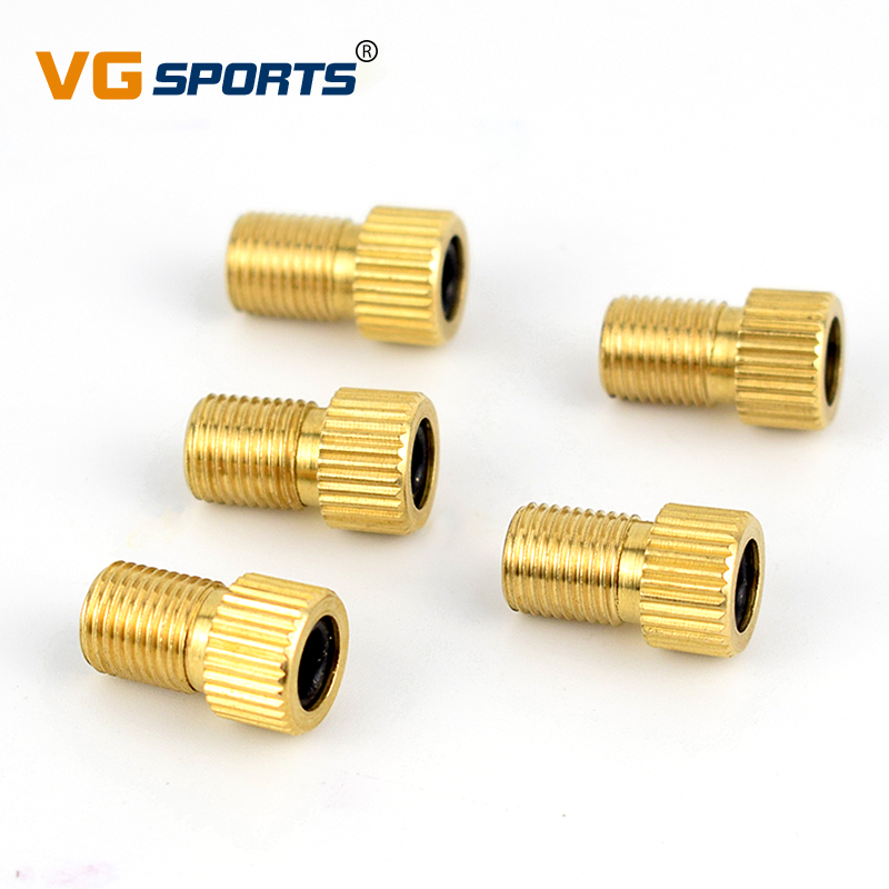 10x Presta to Schrader Valve Adapter Converter Road Bike Cycle Bicycle Pump Tube