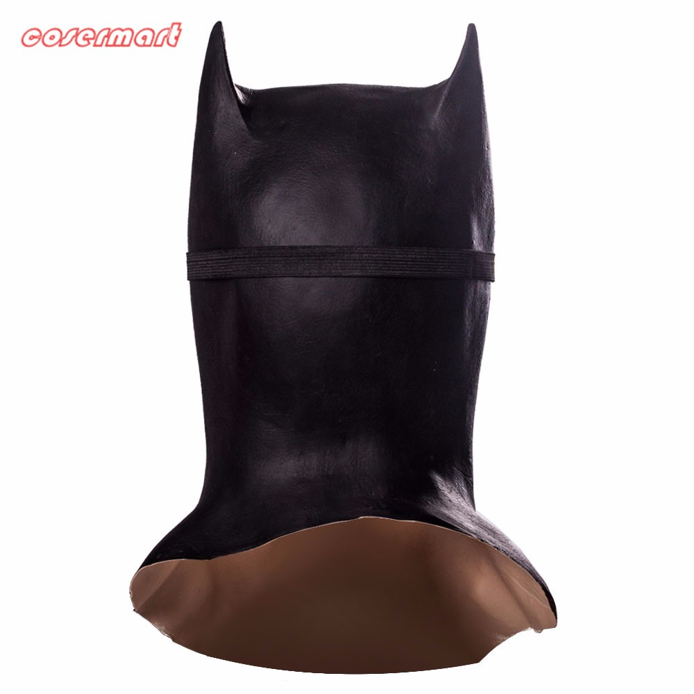 Batman Masks Full Head Latex Batman Vs Superman Masks With Glasses Dark Knight  Mask Cosplay Batman Masks Halloween Party (3)