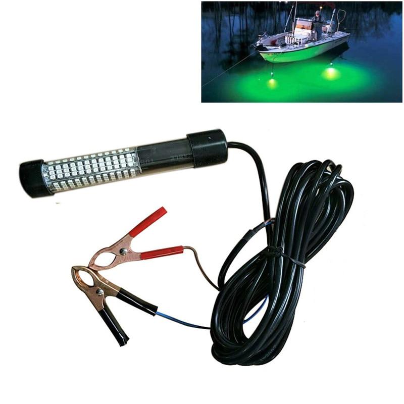 10 W 12 V מתחת למים דגי דיג בלילה אור למשוך דגי LED לילה מפתה מנורות לסירות רציפים דיג כלים ירוק